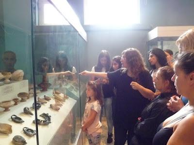 ΝΕΑ ΑΚΡΟΠΟΛΗ - Εκδρομή στον Αρχαιολογικό χώρο της Ελευσίνας