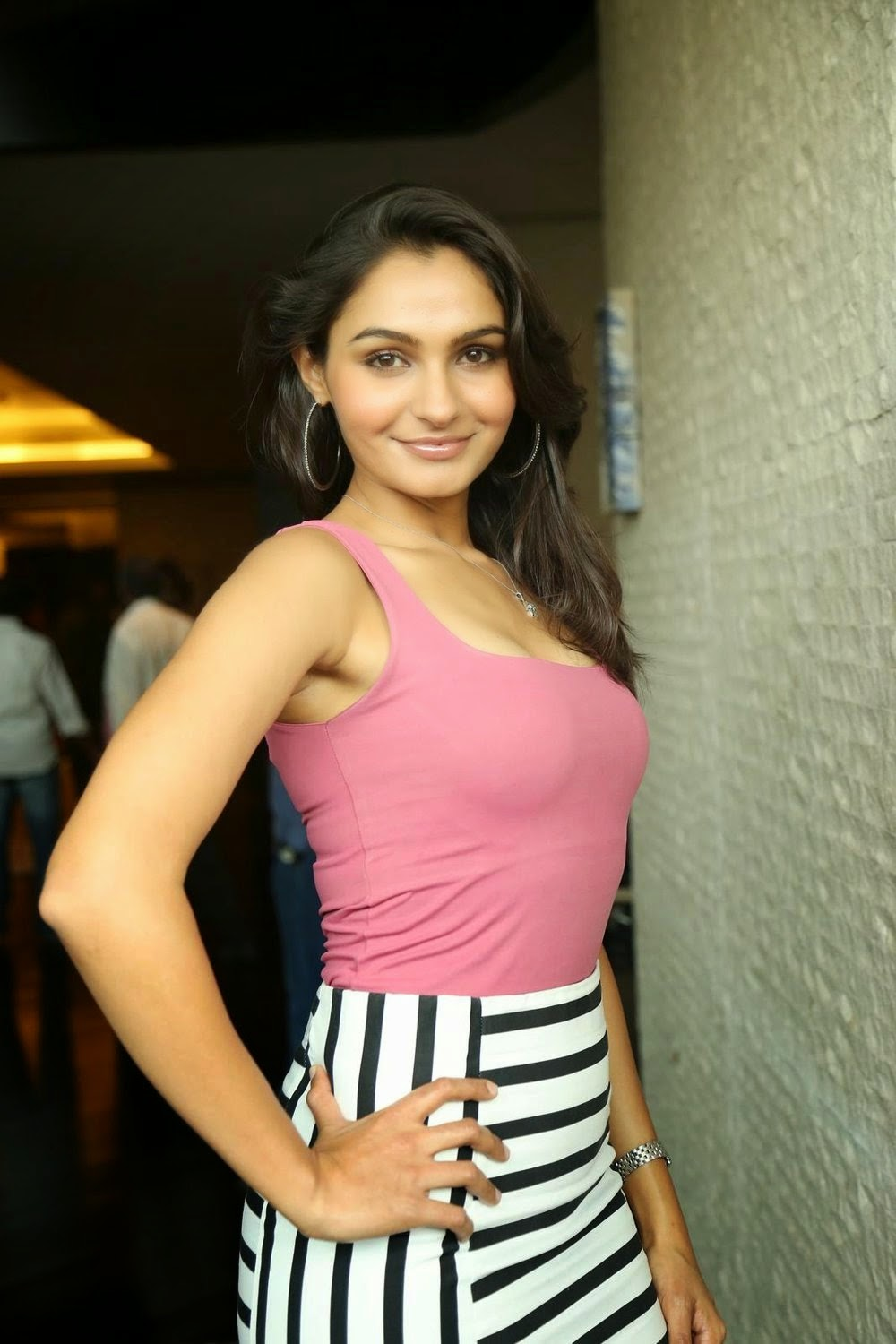 Andrea Jeremiah Latest HD Stills at Uttam Villain Press Meet