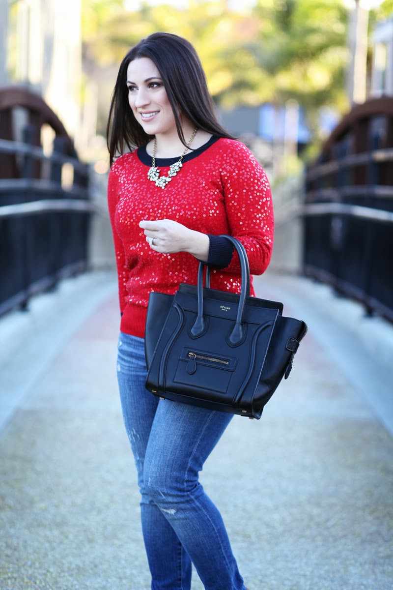 jcrew-holiday-style-nude-lipstick-celine-bag-statement-necklace-king-and-kind