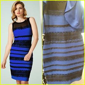 Vestido azul e preto branco e dourado explicacao