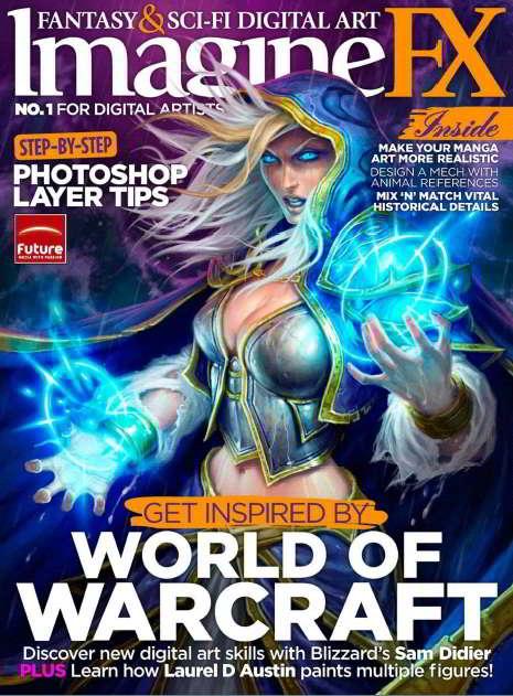 ImagineFX Magazine Issue 90 Christmas 2012