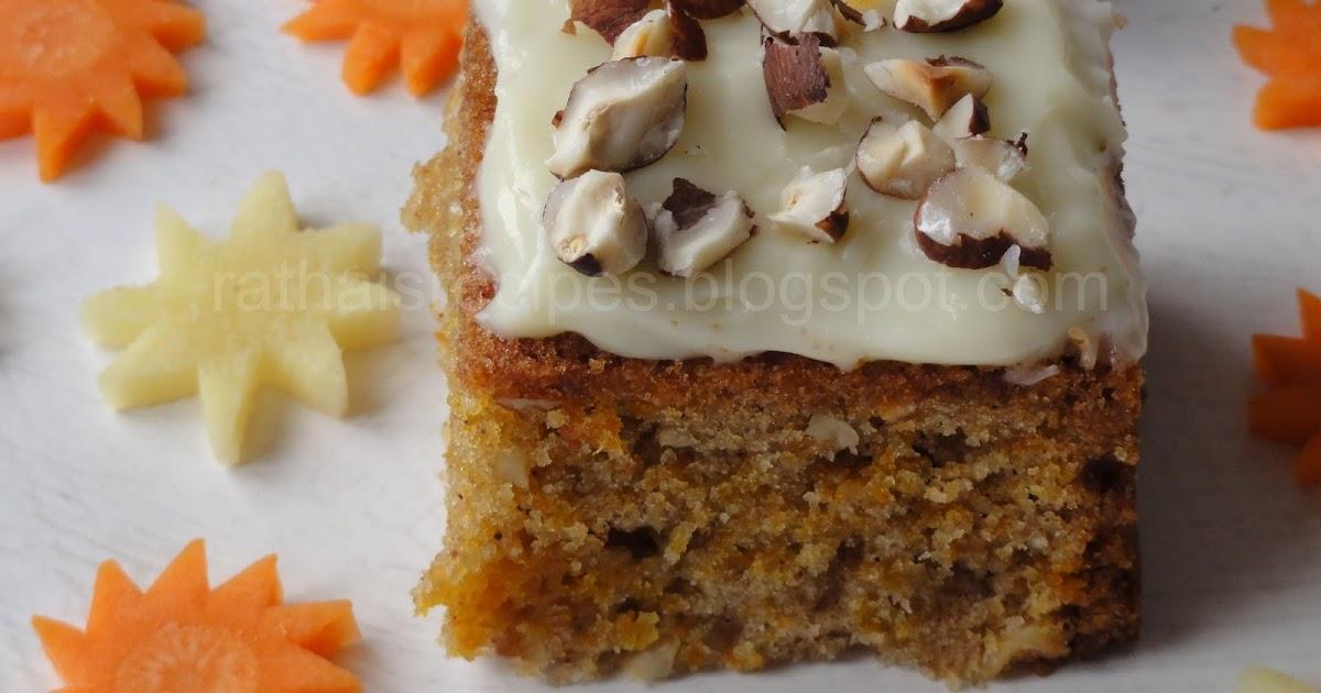 Carrot Cake Without Baking Powder And Soda Recipe