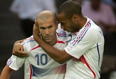 Henry Dukung Zidane Jadi Pelatih Madrid