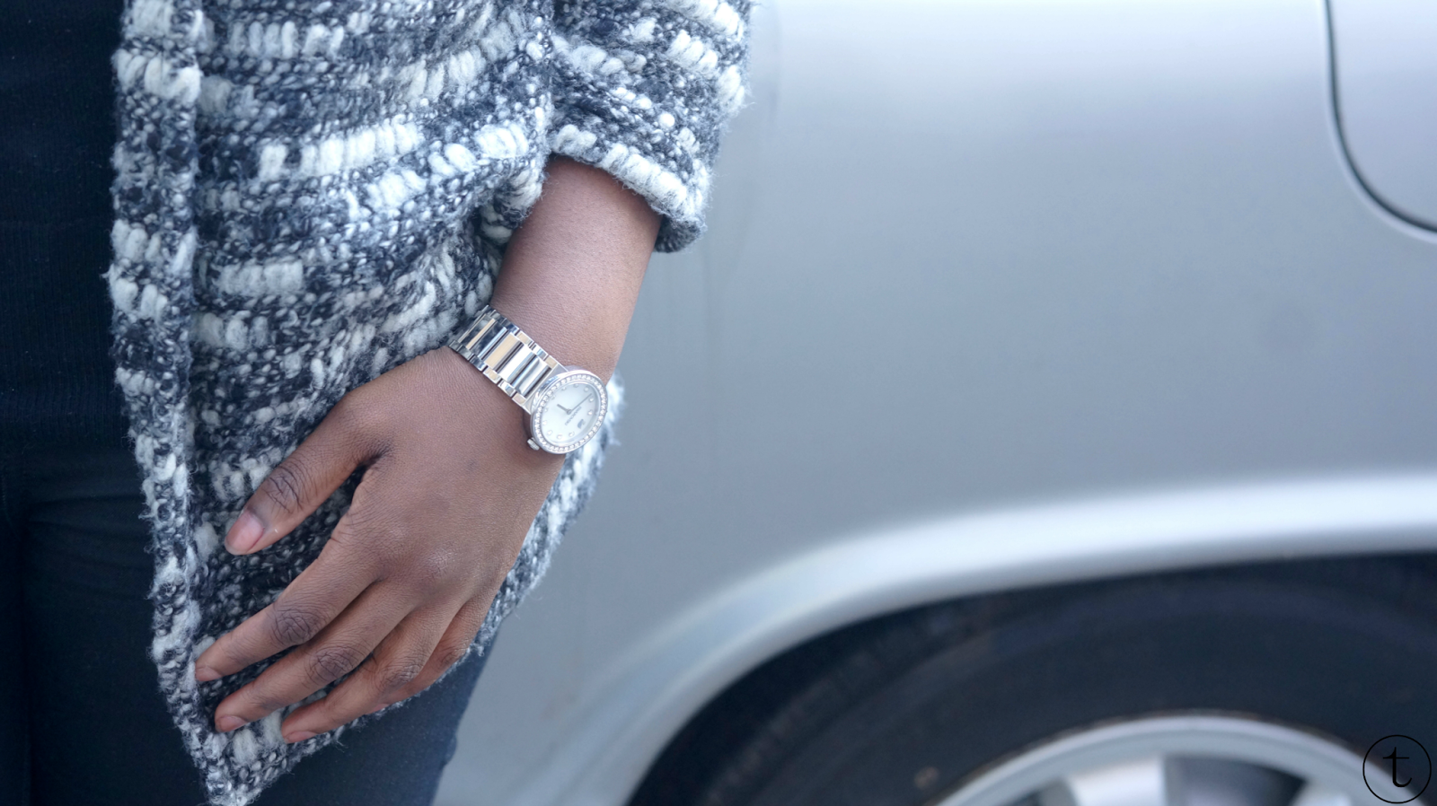 outfit post details swarovski watch