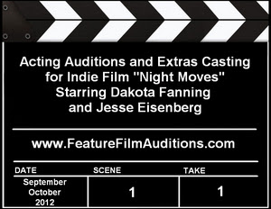 Acting Auditions Extras Casting Night Moves