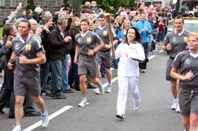 Antorcha olímpica en Aberdeen, Juegos Olimpicos Londres 2012 London 2012