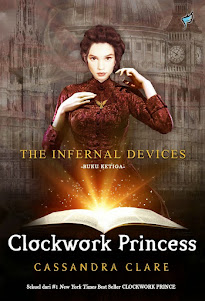 THE INFERNAL DEVICES: CLOCKWORK PRINCESS GIVEAWAY!