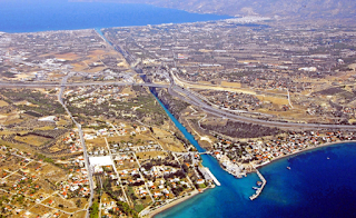 Architects and Engineers for Flat Earth Truth Corinth-canal
