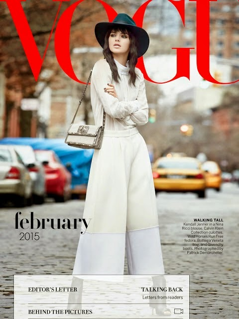 Kendall Jenner – Vogue US Magazine (February 2015)