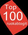 Top 100 ruokablogi