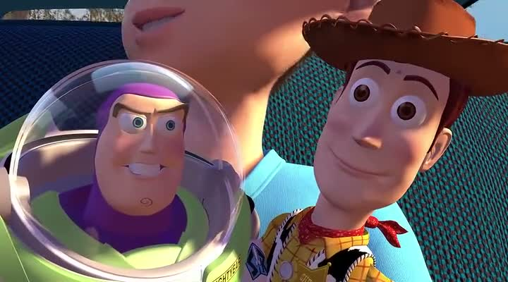 Toy Story (1995) BRRip 420p 300MB Dual Audio