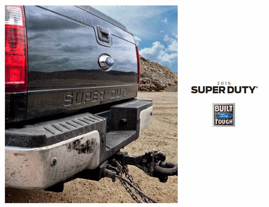 2015 Ford Super Duty Brochure Cover