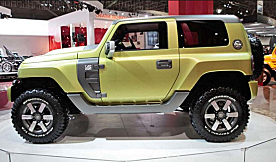 2017 Ford Bronco Concept
