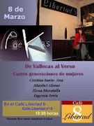 8 de Marzo: Recital especial de mujeres PoeKas