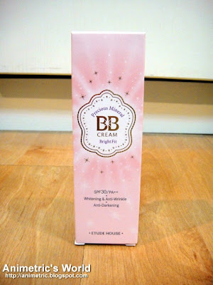 Etude House Precious Mineral BB Cream Review