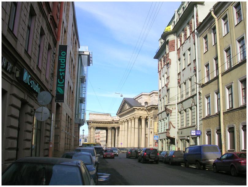 Санкт-Петербург Казанская улица