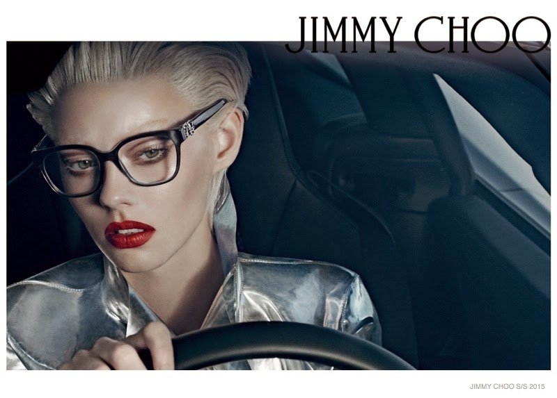 Jimmy Choo Spring/Summer 2015 Campaign featuring Ondria Hardin