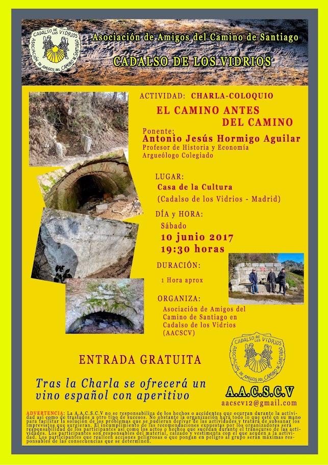 CHARLA: EL CAMINO ANTES DEL CAMINO