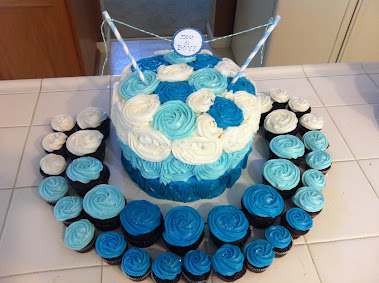 OMBRE CAKE & CUPCAKES
