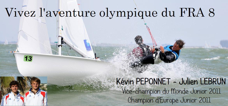 Vivez l'aventure olympique du FRA 8