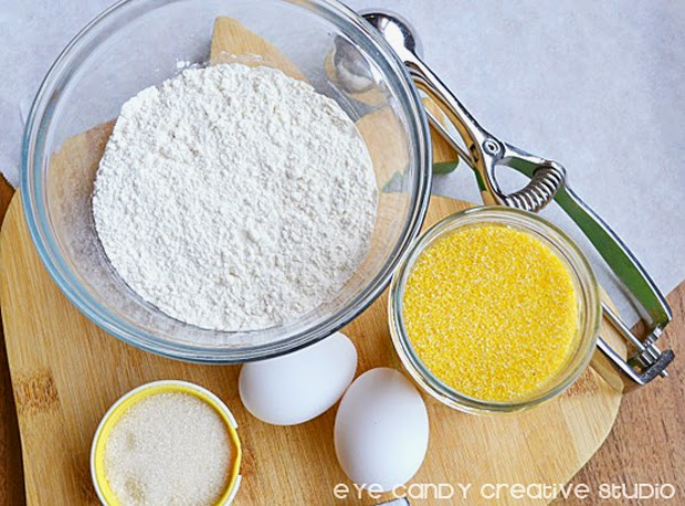 ingredients for cornbread, cornbread recipe, cornbread muffin recipe, eggs