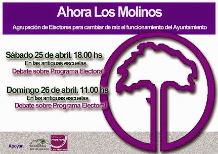 A ganar el Ayuntamiento de Los Molinos
