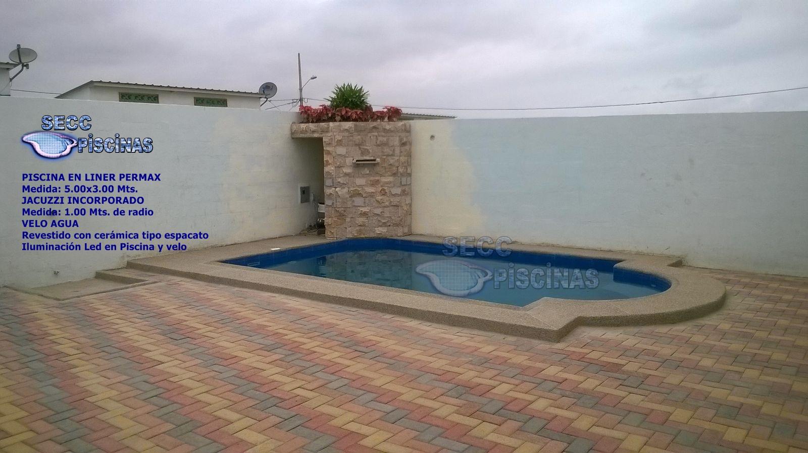 Secc piscinas piscinas con jacuzzi incorporado for Construccion de piscinas en ecuador