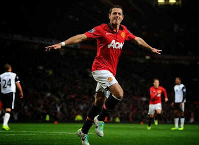 Javier Hernandez Manchester United Contract 20132014