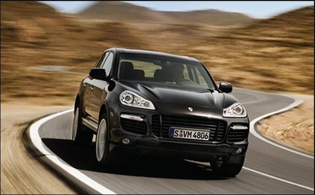 Porsche Cayenne 4.9 liter