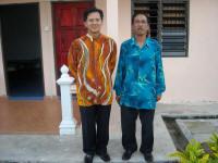 Bersama Tuan Haji Amran Ab Rahman,Pegawai Daerah Johor Bahru