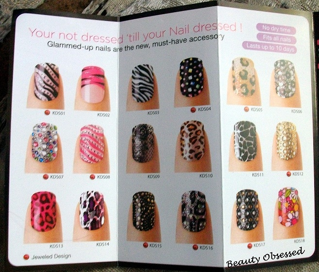 Beauty Obsessed: Review: Kiss Nail Dress