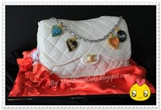 Chanel Handbag Cake