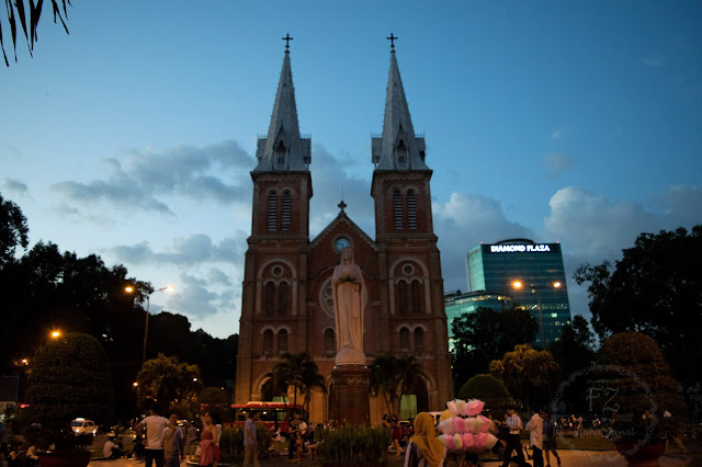 notre dame cathedral ho chi minh , ho chi minh attraction