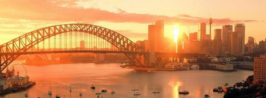Couverture facebook paysage australie
