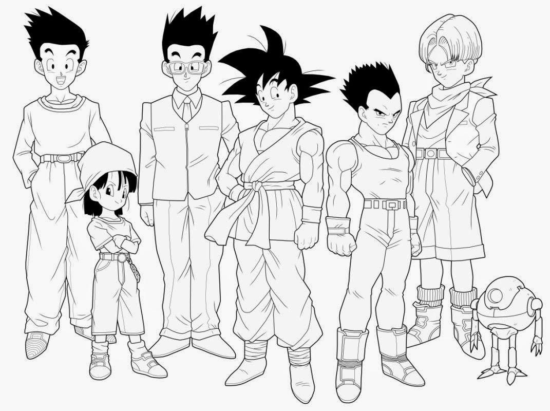 Dibujos para colorear. Maestra de Infantil y Primaria.: Dragon Ball ...