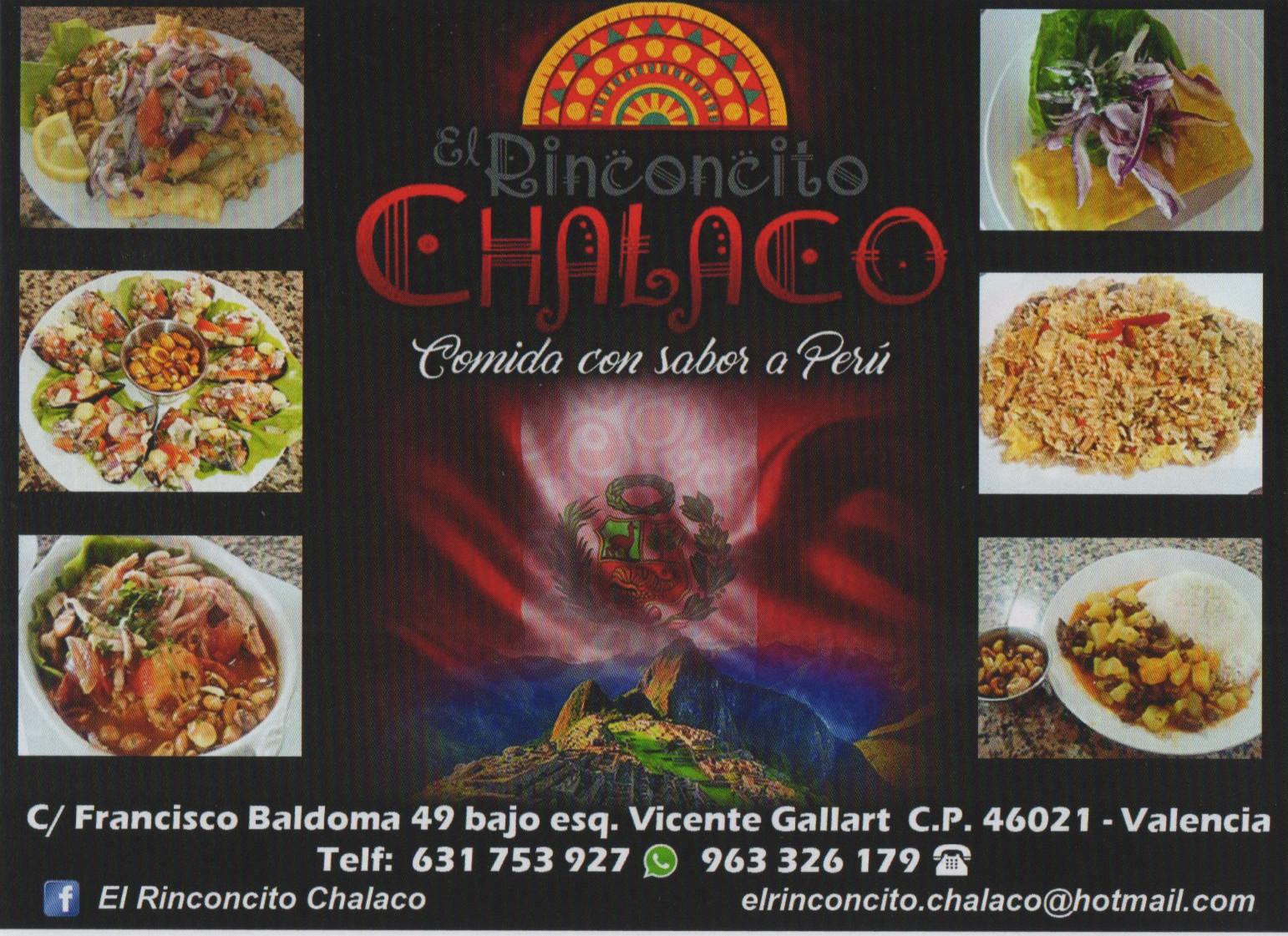 Restaurante peruano El Rinconcito Chalaco