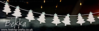 Scentsational Christmas Tree Garland by Stampin' Up! Demonstrator Bekka Prideaux www.feeling-crafty.co.uk