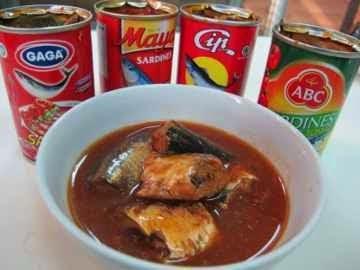ikan sardines siap di konsumsi