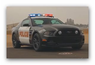 The One With The Ford Mustang 5 0 Police Car World s Fastest