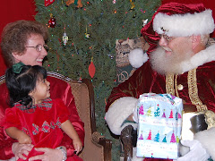 Miri with Santa