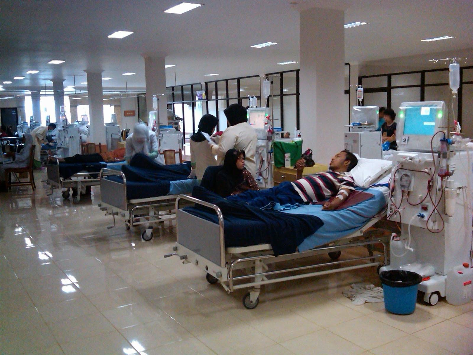 Ruang Hemodialisa di Rumah sakit happy land jogja