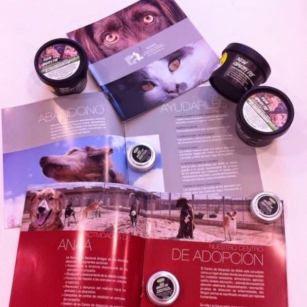 Asociación Nacional de Amigos de los Animales Charity Pot Lush