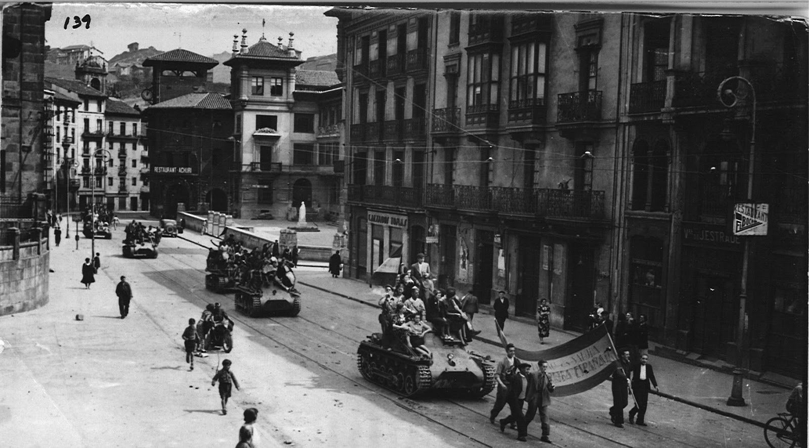 Image result for santo domingo bilbao 1937