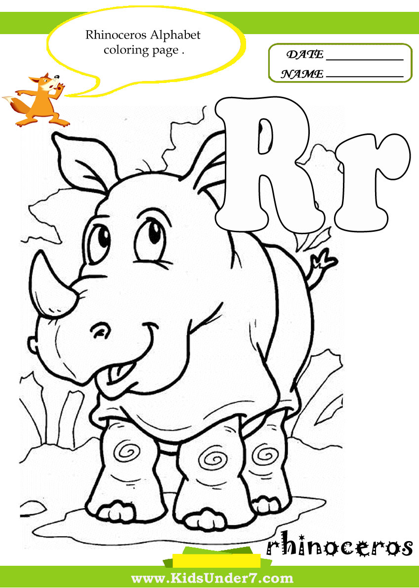 Coloring sheet of the letter t - Letter R Worksheets And Coloring Pages