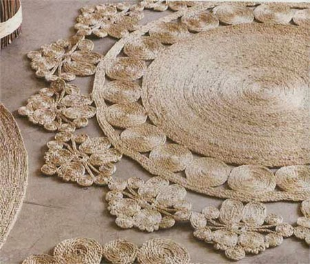 How to make jute, sisal, twine or cotton rope rugs