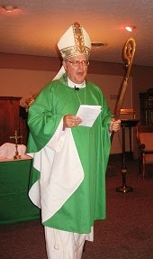 Bishop Fick on Confirmation Day 2012