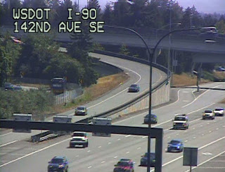 Drivers on the 148th Ave SE Ramp to Westbound I-90