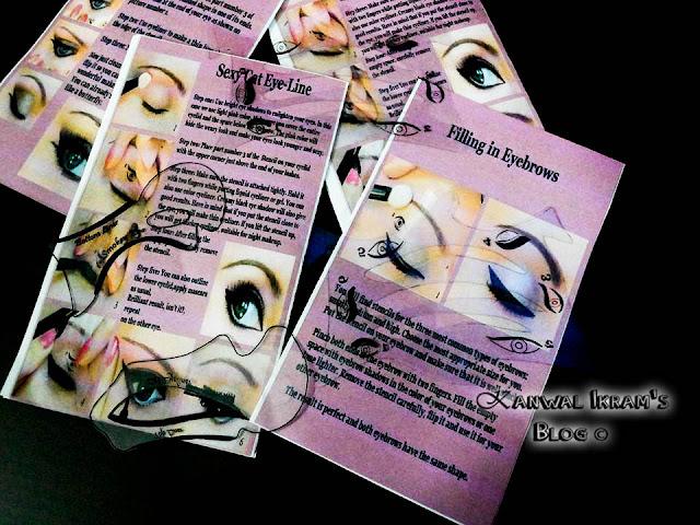 Eye Make Up Stencil- Review