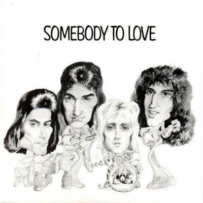 Portada del single Somebody to love de QUEEN