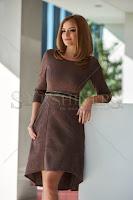Rochie StarShinerS Classic Brown (StarShinerS)